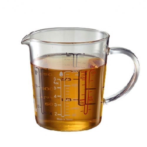 玻璃刻度量杯200ml