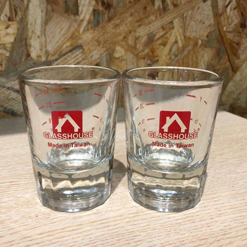 厚底玻璃盎司杯1.5oz